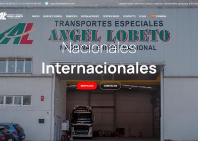 Transportes especiales Ángel Lobeto